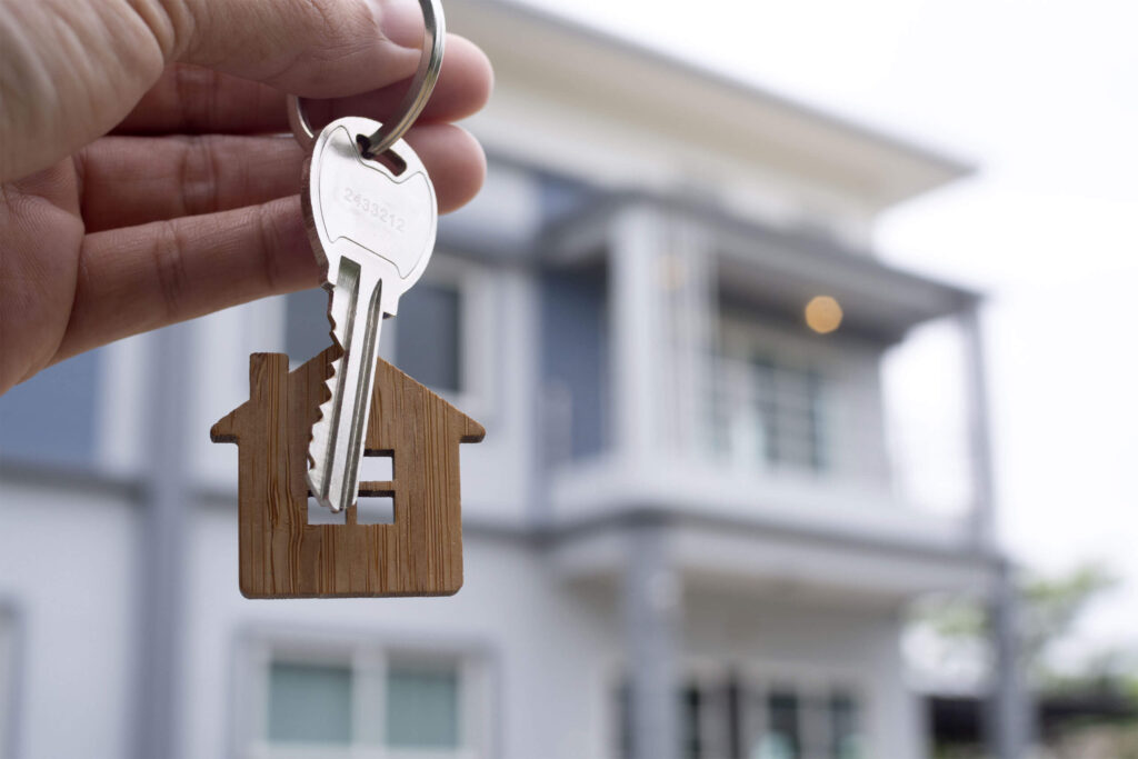 landlord-unlocks-house-key-new-home-real-estate-agents-sales-agents